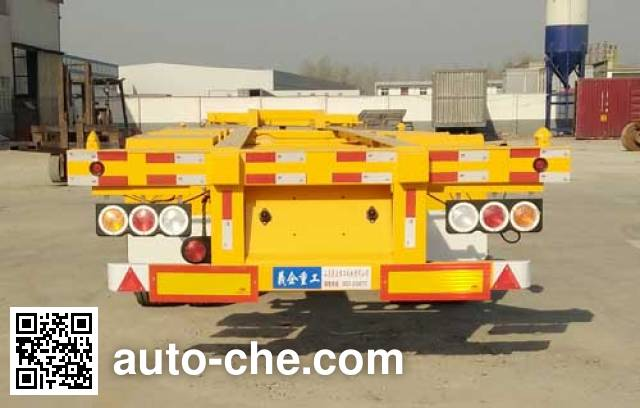 Liangyi TYK9400TJZE container transport trailer