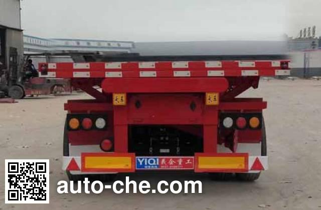 Liangyi TYK9403ZZXP flatbed dump trailer