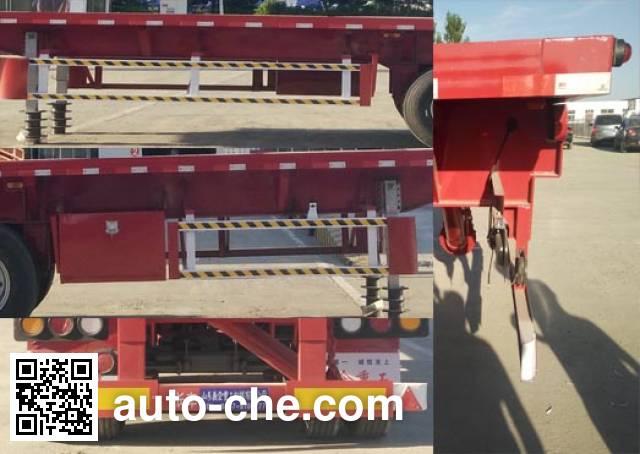 Liangyi TYK9405ZZXP flatbed dump trailer