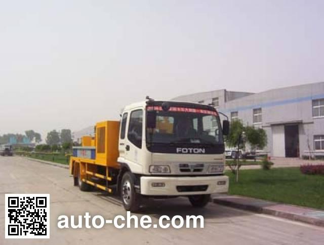 亚特重工牌TZ5110THBB71车载式混凝土泵车