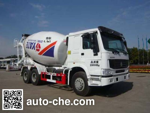 亚特重工牌TZ5257GJBZ4ND混凝土搅拌运输车