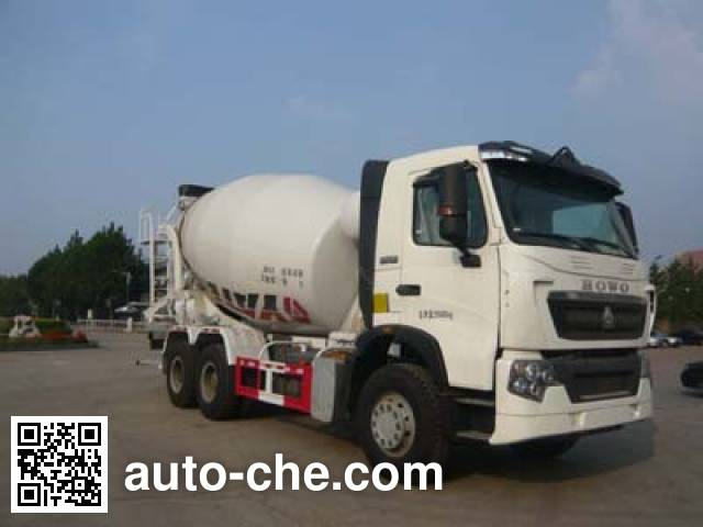 亚特重工牌TZ5257GJBZ4NDT混凝土搅拌运输车