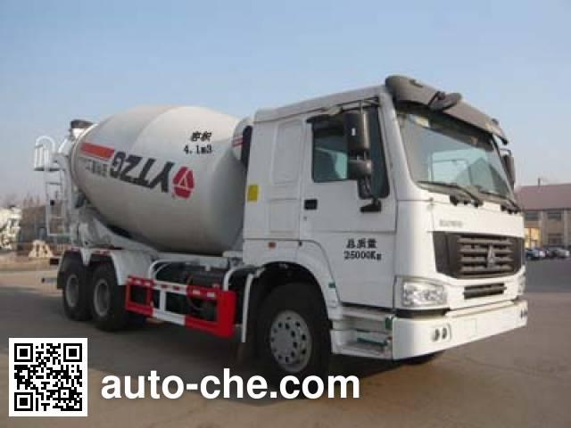 亚特重工牌TZ5257GJBZE3D混凝土搅拌运输车