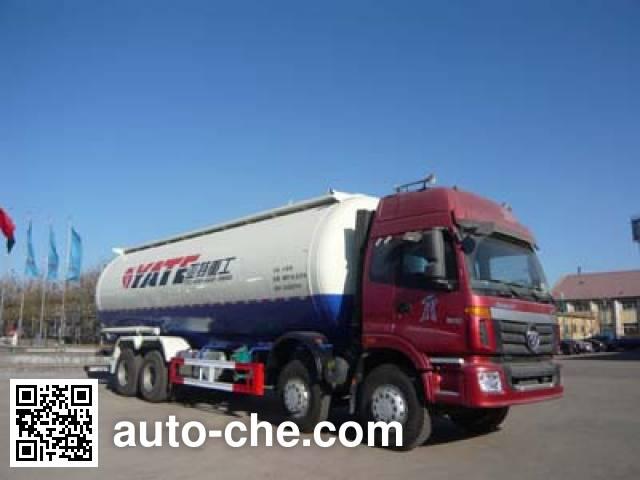 亚特重工牌TZ5313GFLBJ7D低密度粉粒物料运输车
