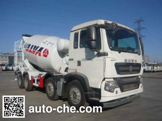 亚特重工牌TZ5317GJBZG8D混凝土搅拌运输车