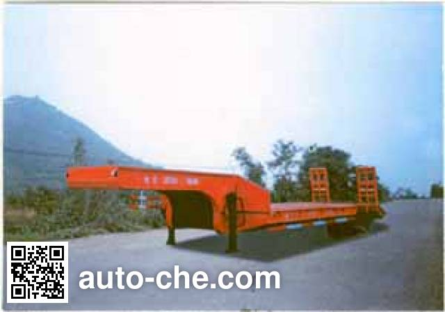Yate YTZG TZ9200D flatbed trailer