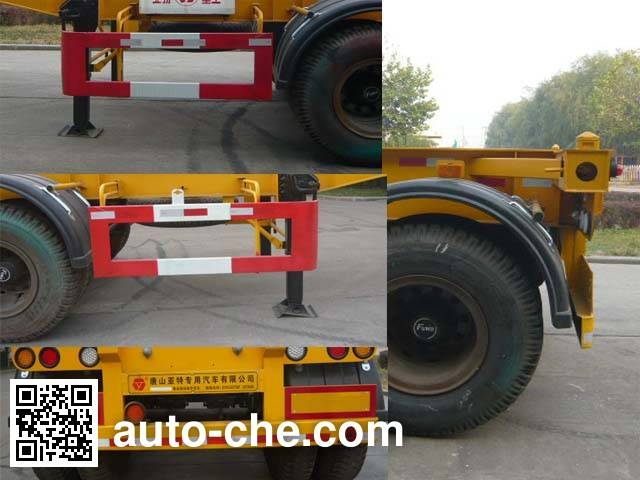 Yate YTZG TZ9340TJZ container transport trailer