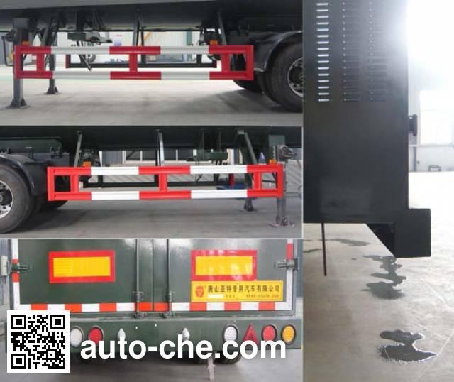 亚特重工牌TZ9400GDY低温液体运输半挂车