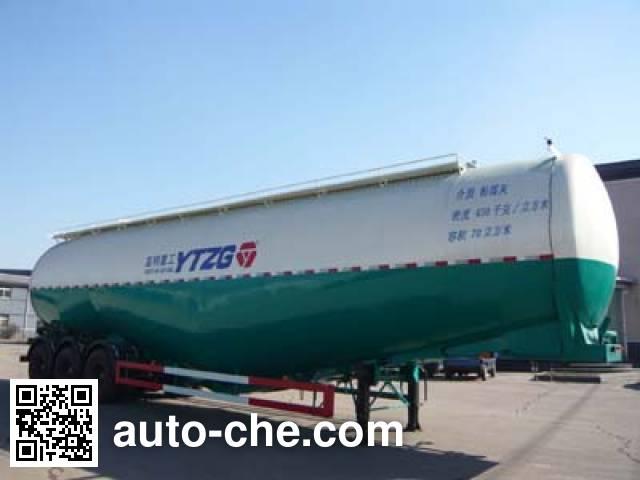 亚特重工牌TZ9401GFLA低密度粉粒物料运输半挂车