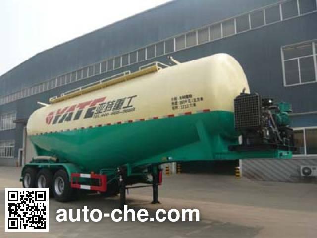 亚特重工牌TZ9407GFLA中密度粉粒物料运输半挂车