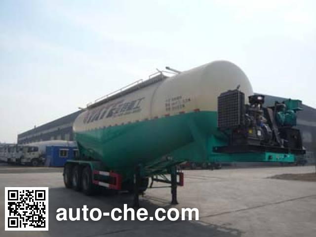 亚特重工牌TZ9407GFLB中密度粉粒物料运输半挂车
