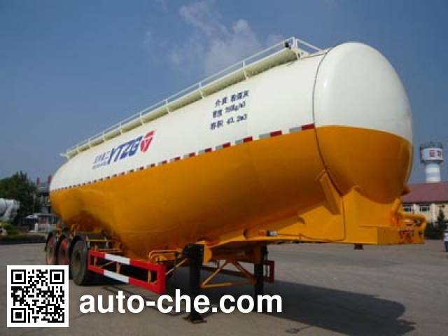 Yate YTZG TZ9409GFL low-density bulk powder transport trailer