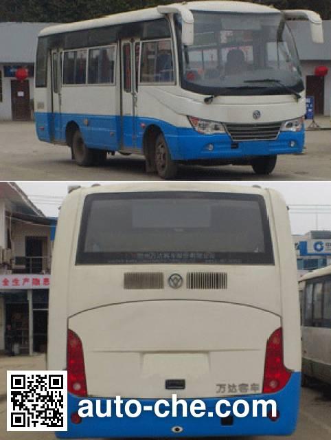 万达牌WD6660NGA城市客车