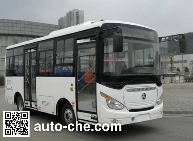 万达牌WD6682BEV1纯电动城市客车