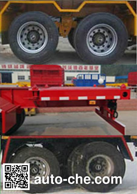 Wodeli WDL9351TJZ container transport trailer