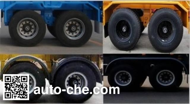 Wodeli WDL9351TJZE container transport trailer