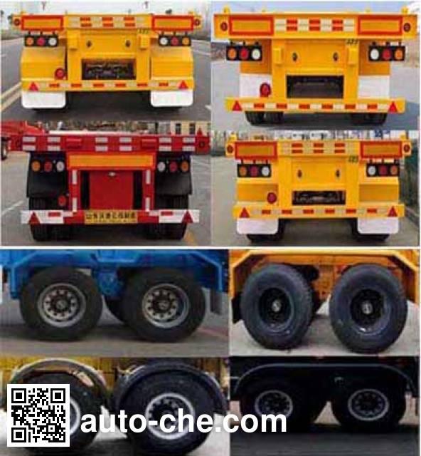 Wodeli WDL9353TJZ container transport trailer