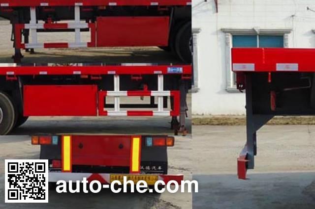 Wodeli WDL9400TPB flatbed trailer