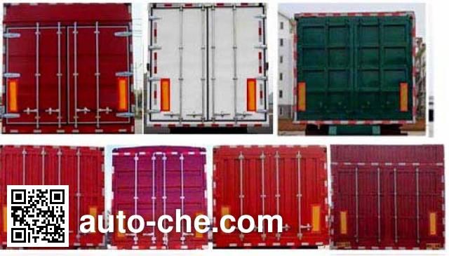 Wodeli WDL9400XXY box body van trailer
