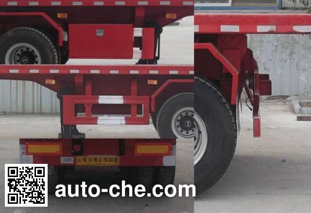Wodeli WDL9400ZZXP flatbed dump trailer