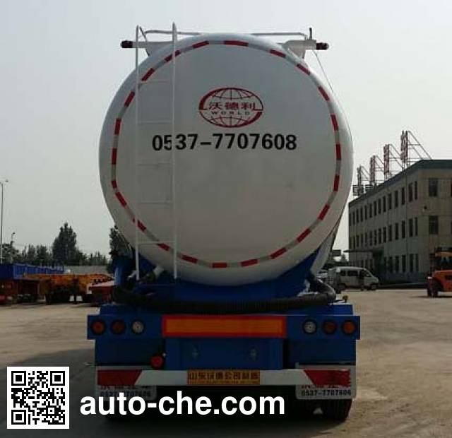 Wodeli WDL9406GXH ash transport trailer