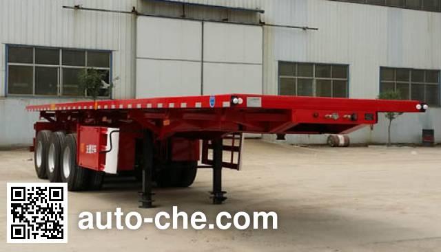 Wodeli WDL9403ZZXP flatbed dump trailer