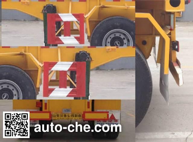 Wodeli WDL9405TJZ container transport trailer