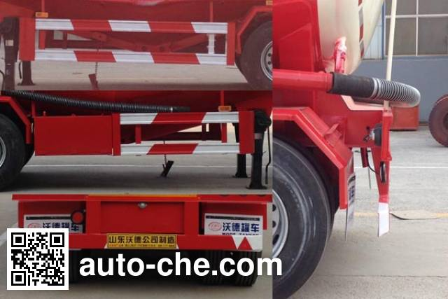 Wodeli WDL9408GXH ash transport trailer