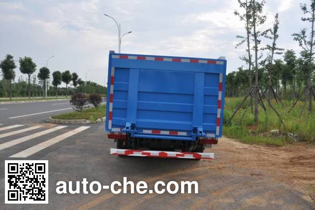 Jinyinhu WFA5083CTYEE5NG trash containers transport truck