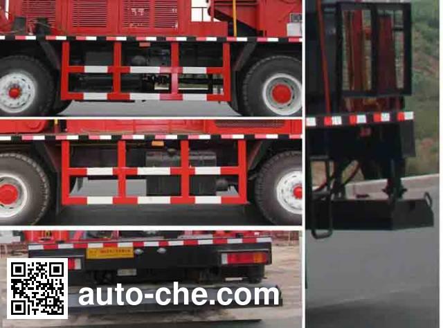 Tuoshan WFG5311TXJ well-workover rig truck