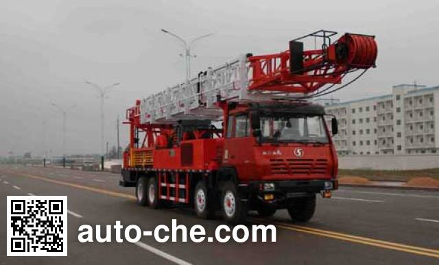 Tuoshan WFG5340TXJ well-workover rig truck