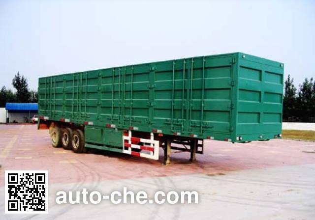 Tuoshan WFG9330XXY box body van trailer