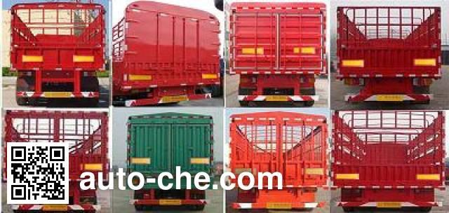 Tuoshan WFG9404CLXYA stake trailer