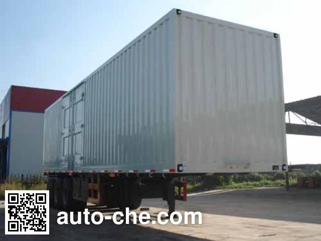 Tuoshan WFG9404XXY box body van trailer
