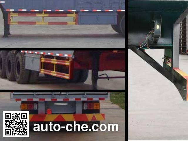 Tuoshan WFG9405XXY box body van trailer