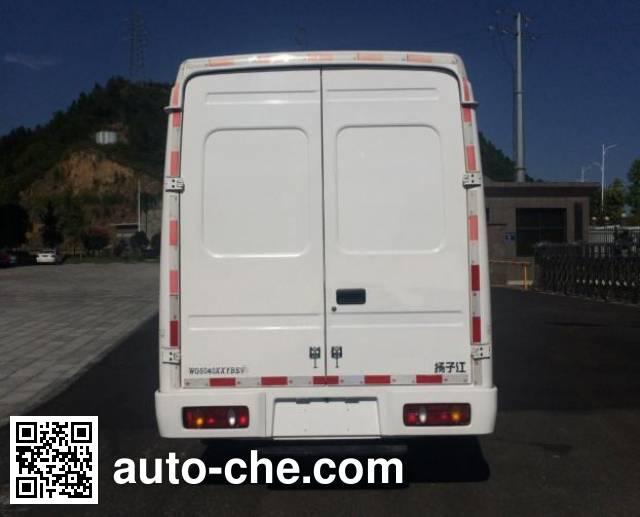 Yangtse WG5040XXYBEV electric cargo van