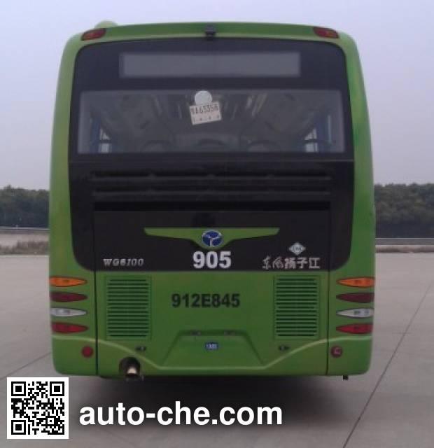 扬子江牌WG6100NHA4城市客车