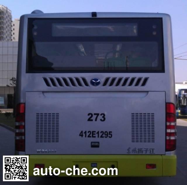扬子江牌WG6100PHEVCM混合动力城市客车
