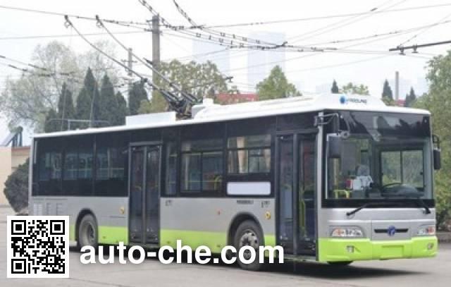 扬子江牌WG6120BEVHM2纯电动城市客车