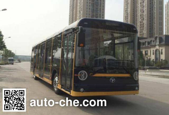 扬子江牌WG6120BEVHR2纯电动城市客车