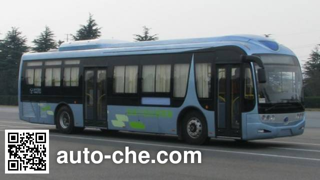 扬子江牌WG6120PHEVAA混合动力城市客车