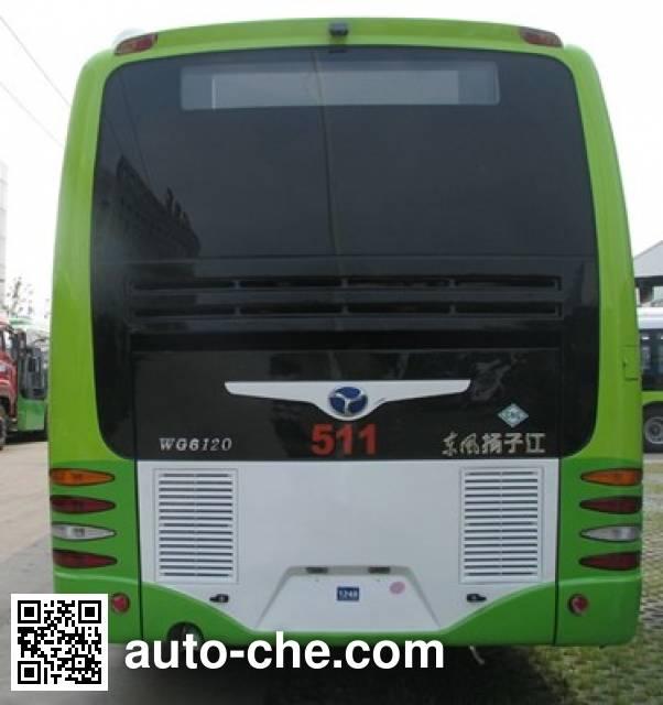 扬子江牌WG6120PHEVCA混合动力城市客车