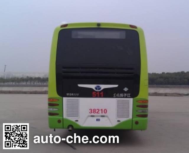 扬子江牌WG6121PHEVBA混合动力城市客车