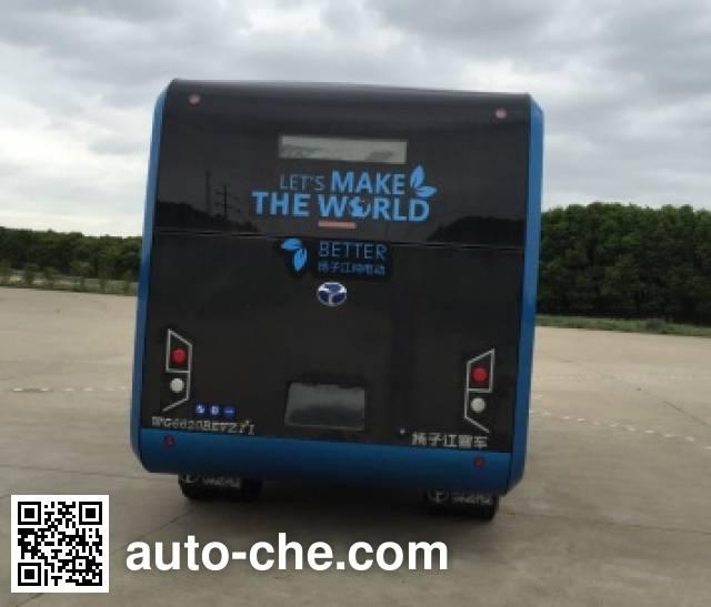 扬子江牌WG6620BEVZT1纯电动城市客车