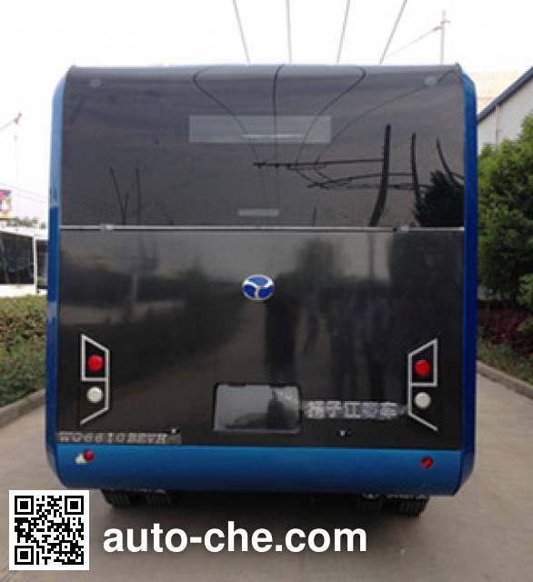 扬子江牌WG6621BEVZ纯电动城市客车