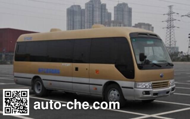扬子江牌WG6702BEVH纯电动客车