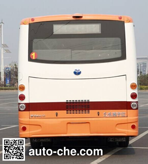 扬子江牌WG6820BEVH纯电动城市客车