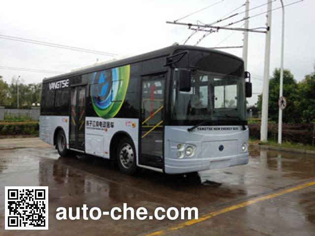 扬子江牌WG6822BEVH纯电动城市客车