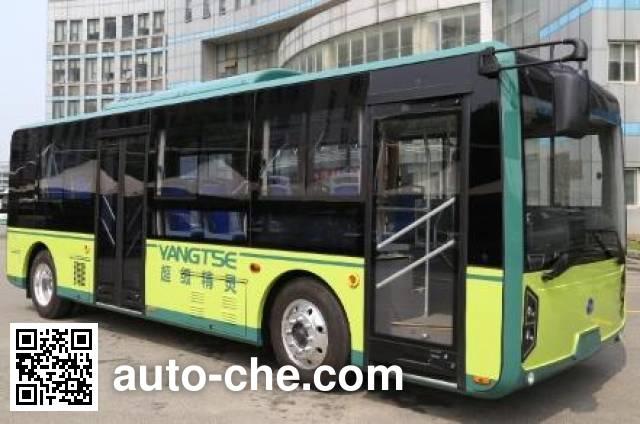 扬子江牌WG6850BEVZT2纯电动城市客车
