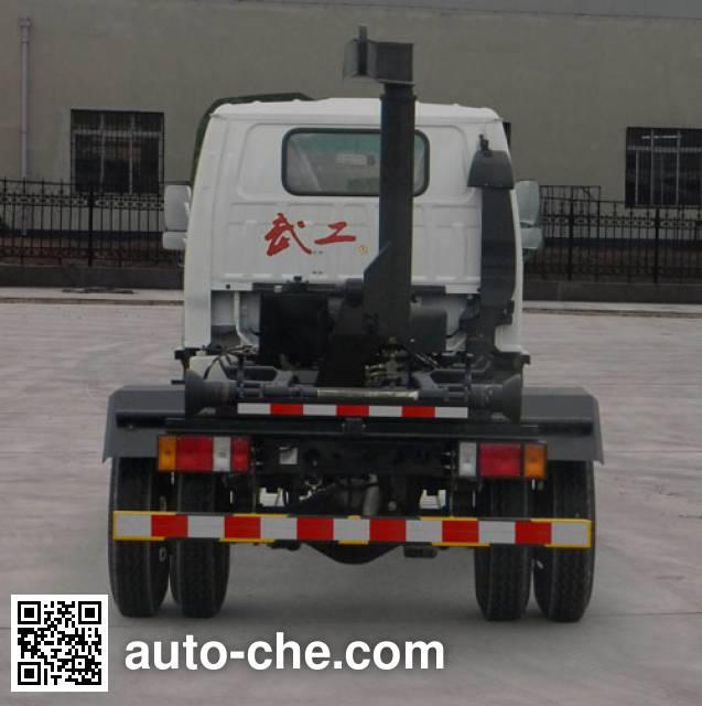 Wugong WGG5070ZXXQLE4 detachable body garbage truck